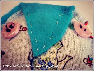 hand sewn owl
