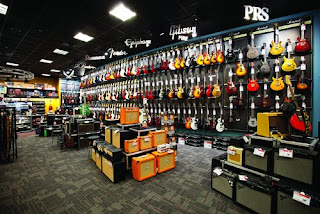 Guitar Center Wall image
