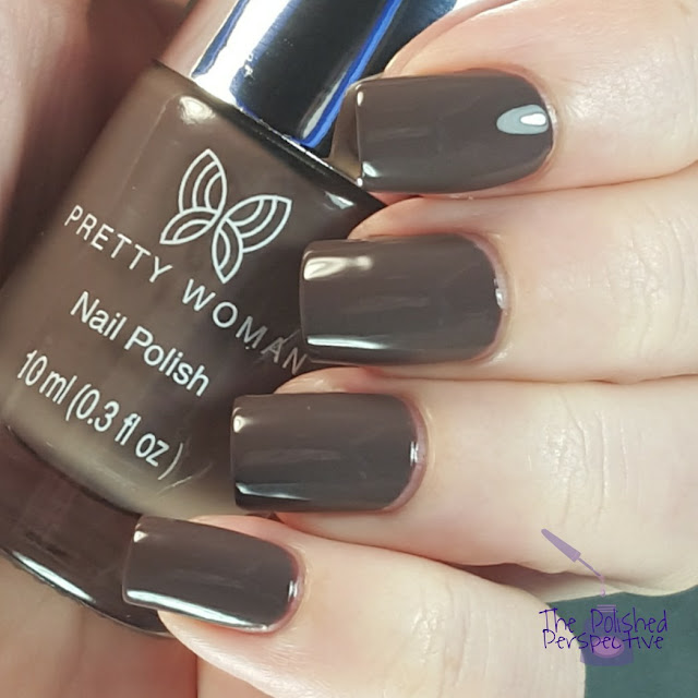 Pretty Woman German Chocolate swatch