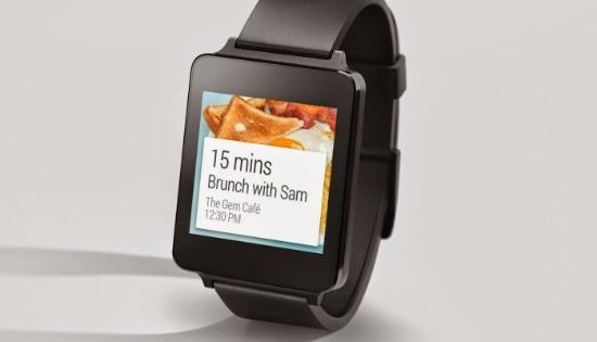 смартчасы LG G Watch