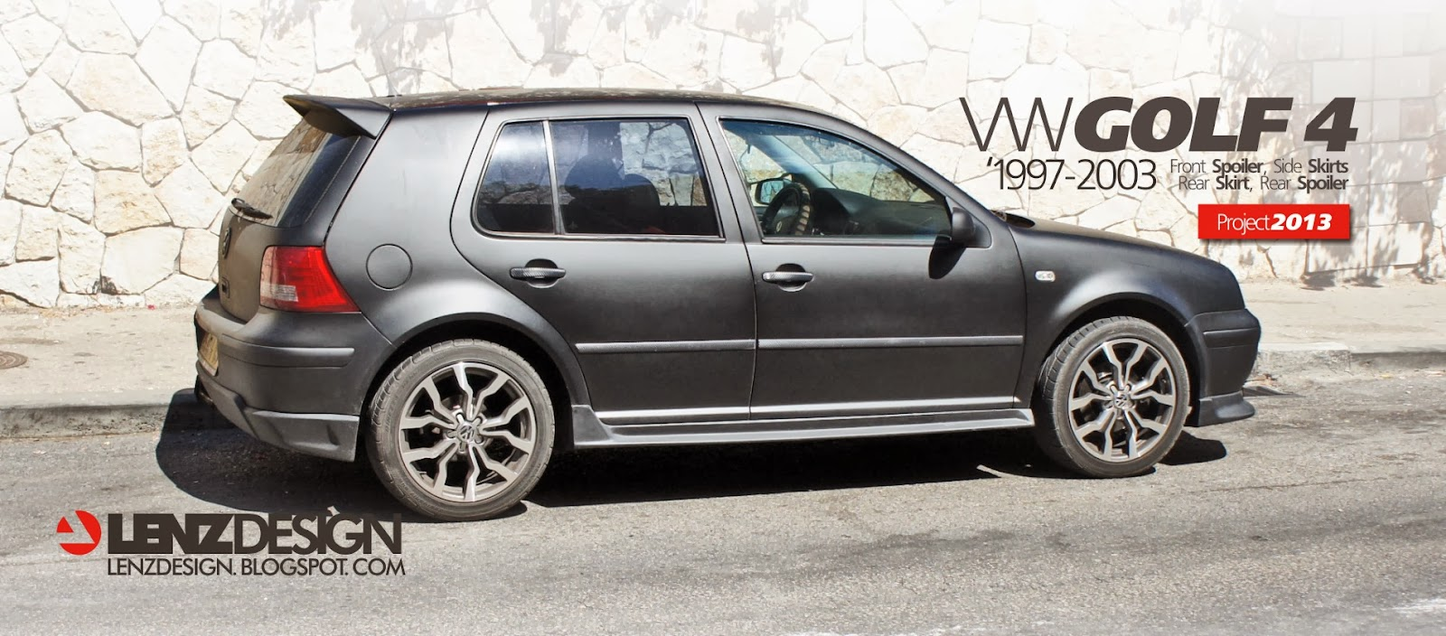 vw golf 4 tuning lenzdesign