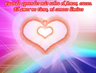 El Amor es la única cosa de entre todas las que conoces, que es verdadera.