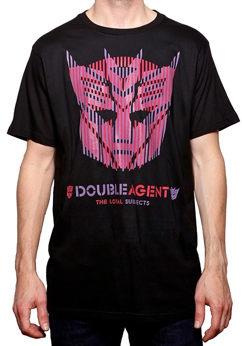"Transformers ""Double Agent"" T-Shirt by The Loyal Subject"