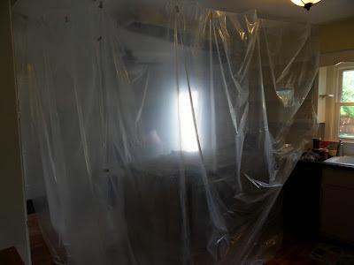 Temporary Clean Room Walls