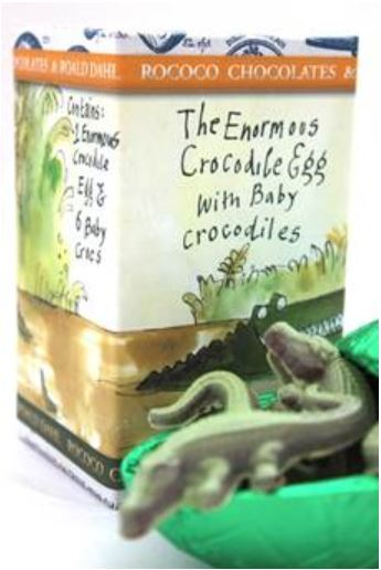 Easter Egg Review Rococo Dahl Crocodile Egg