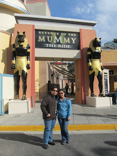 California Universal Studios Hollywood Revenge of the Mummy The Ride