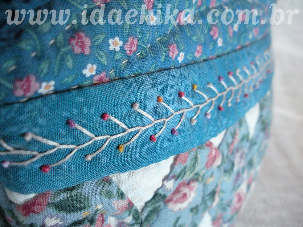 Costura a mao patchwork times