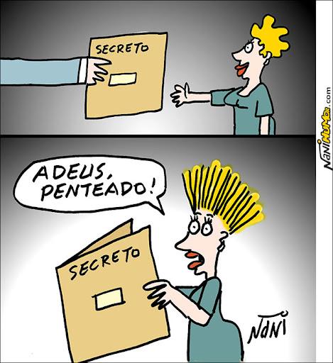 Fim de documentos secretos