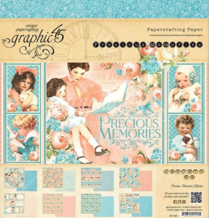 May Giveaway at My Creative Spirit.blogspot.com Precious Memories Graphic 45