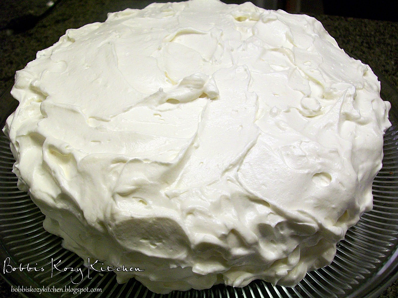 Bobbi's Kozy Kitchen: Pumpkin Spice Cake with Cream Cheese Frosting