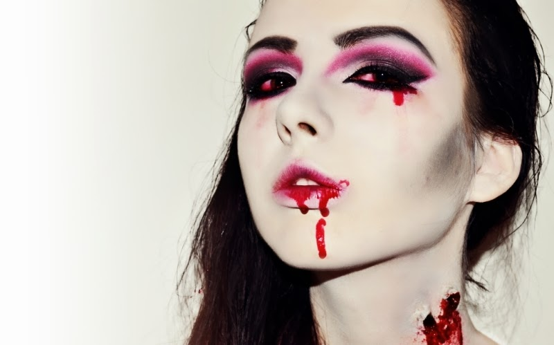 Halloween-Make-Up-Vampir