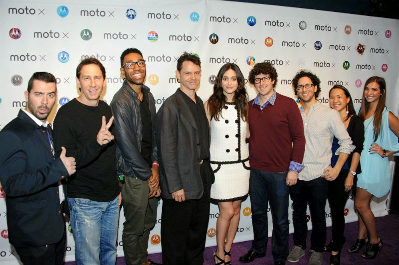 "Moto X Film Experience: Bringing ""Pure Imagination"" to Life with Emmy Rossum"