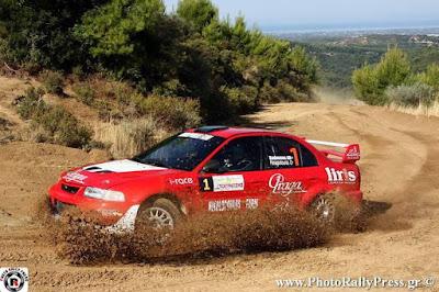 24ο Rally Sprint Αμαλιάδας 2015: Αποτελέσματα