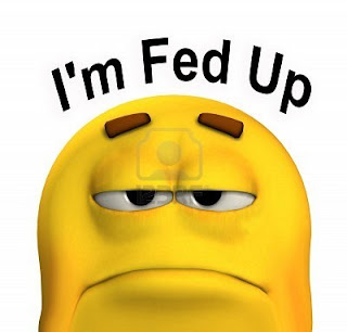 how to stop feeling fed up