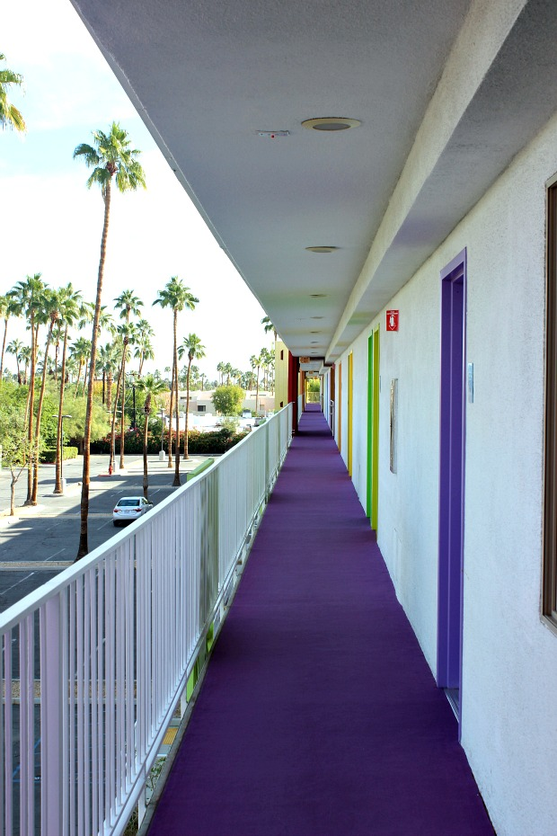 Saguaro Palm Springs- colourful travel diary, where to eat, what to do,
