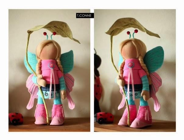 Как сделать куклу коннэ