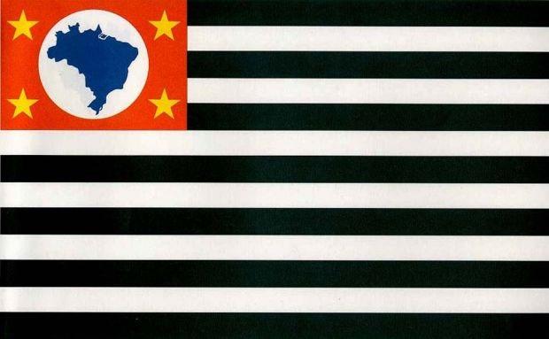 Resultado de imagem para bandeira do estado sp