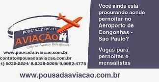 POUSADA AVIAÇÃO - CONGONHAS / SP