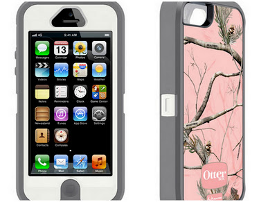 Pink Smart Phone Case, Nature Themed Smart Phone Case, Pink OtterBox Case