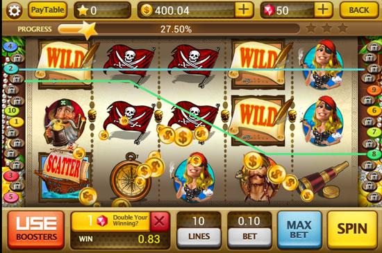 Slots Saga casino slot machine