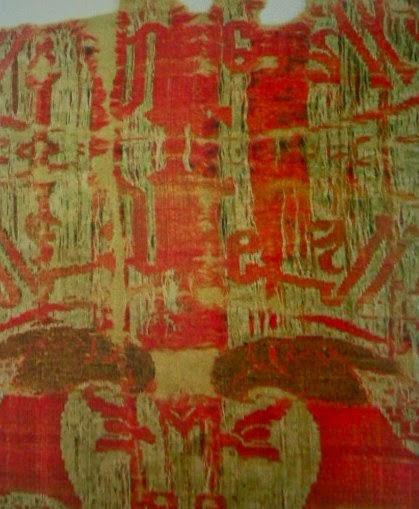 Ermitiella un tejido almor vide con guilas de la for Tejido persa