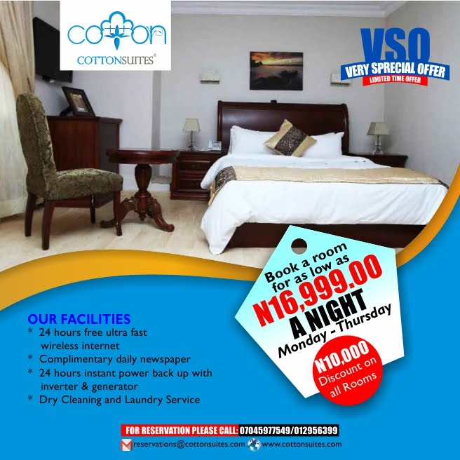 Cotton Suites (Very Special Offer)