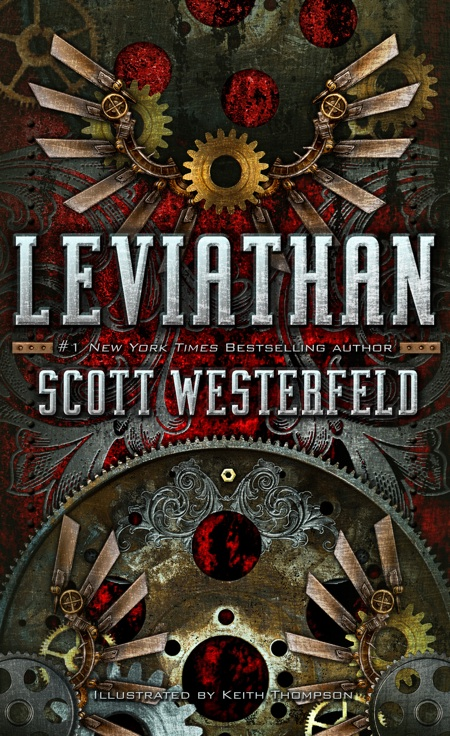Book Cover Series List ~ Clair obscur leviathan de scott westerfeld