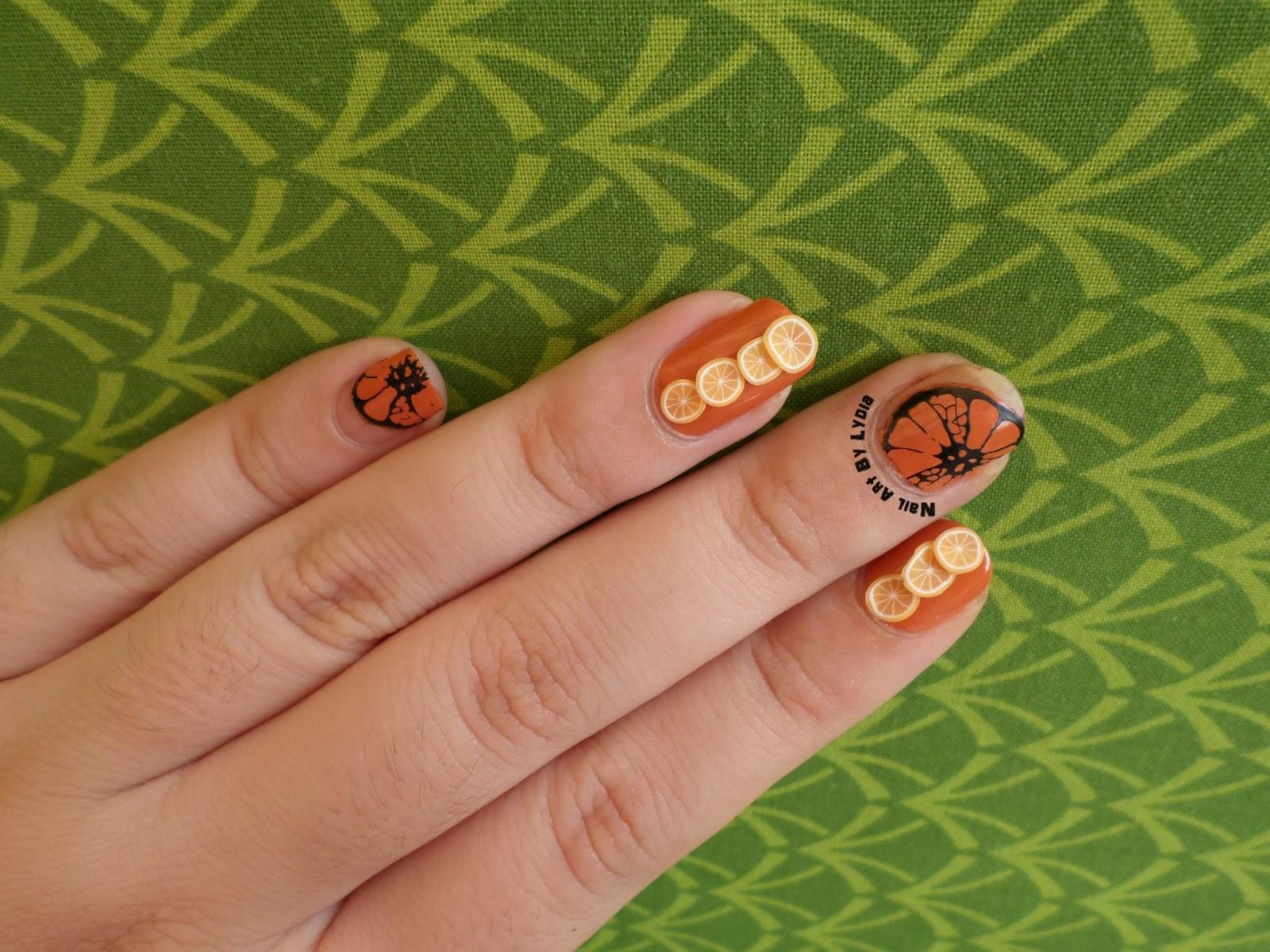 Asombroso Mate Uñas Naranja Cresta - Ideas de Pintar de Uñas ...
