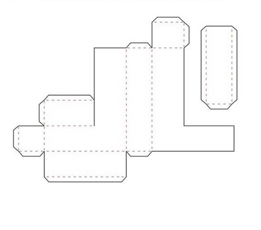 Объемные буквы из бумаги своими руками схемы шаблоны алфавит 72