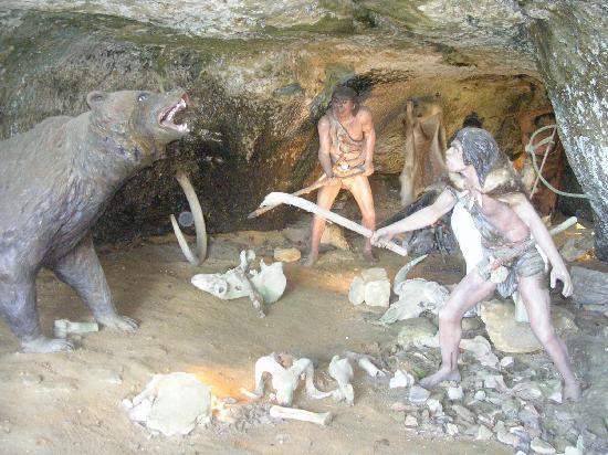 как ловили рыбу в каменном веке