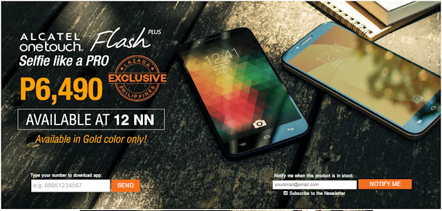 The New Alcatel Onetouch Flash Plus
