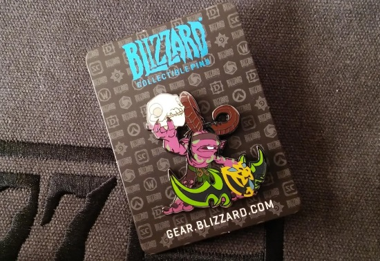 BlizzCon 2015 Murkidan Pin