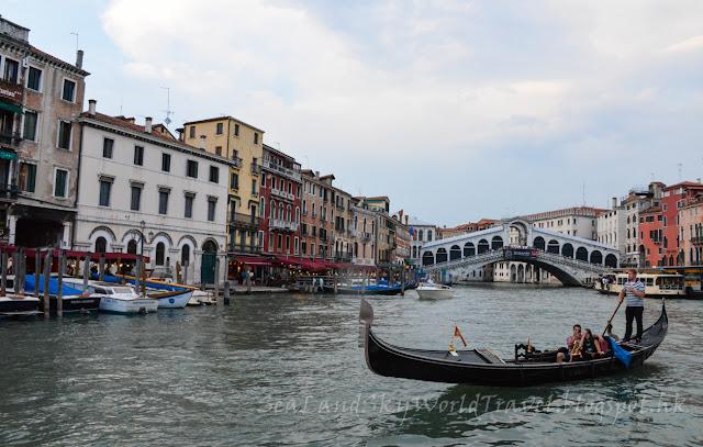 威尼斯, Venice, gondola ride, 里阿爾托橋, rialto bridge