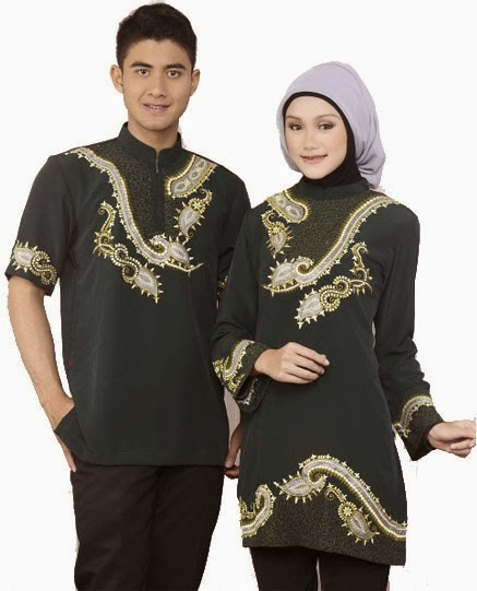 Foto Baju Muslim Couple Model Baru