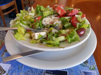 Greek Salad, Mykonos Restaurant
