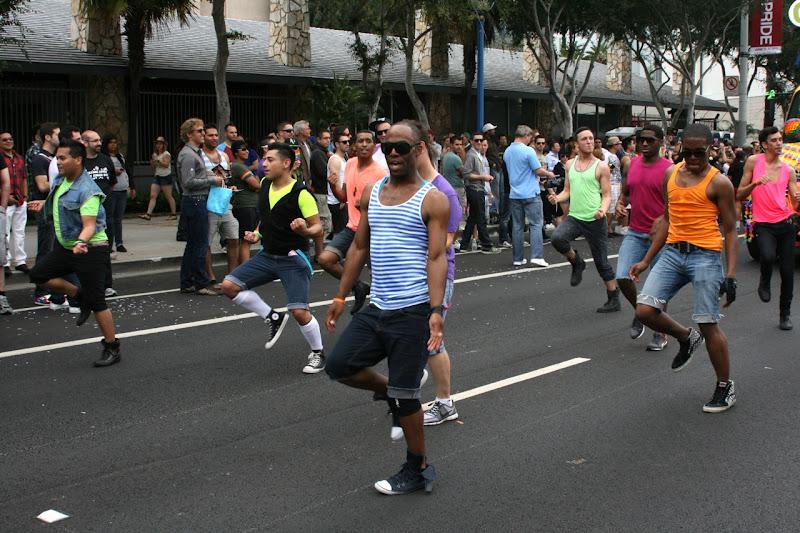 OC Dancers LA Pride Parade