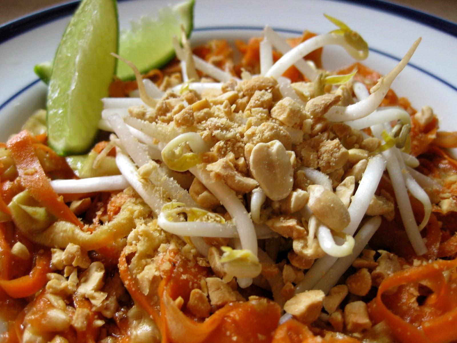 how to make vegan pad thai