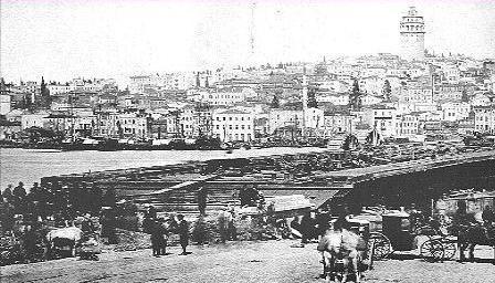 Eski Galata Köprüsü Fotoğrafları