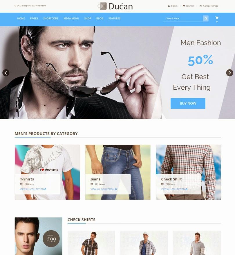 Ducan – Start An Online Store, Woocommerce WP Theme