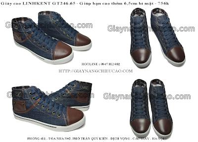 Giày nam đẹp GT246. 65