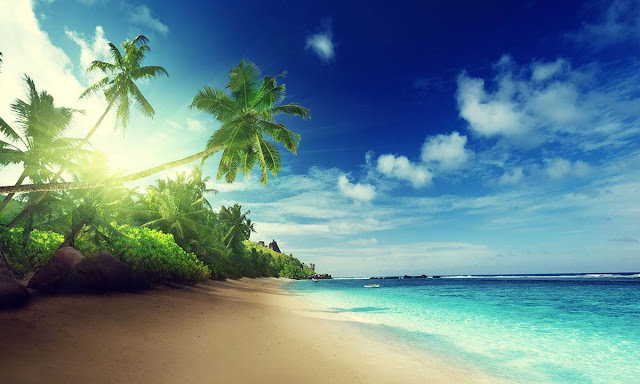beautiful free beach wallpapers