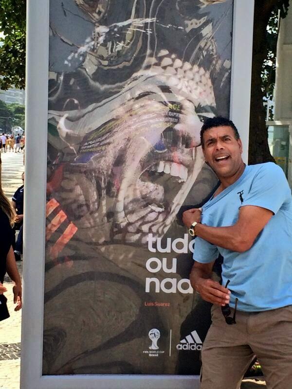Chris Kamara, Luis Suarez, meme, bite, World Cup 2014, Uruguay, funny, funny picture,