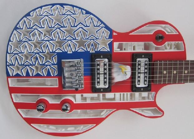 3d printer guitar