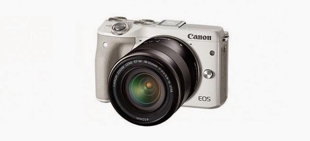 Fotografia della Canon EOS 3M, colore bianco