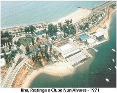 CLUBE  NUNO ÁLVARES - ANO 1971.
