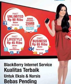 Paket Blackberry Telkomsel Terbaru 2015 dan Cara Daftar