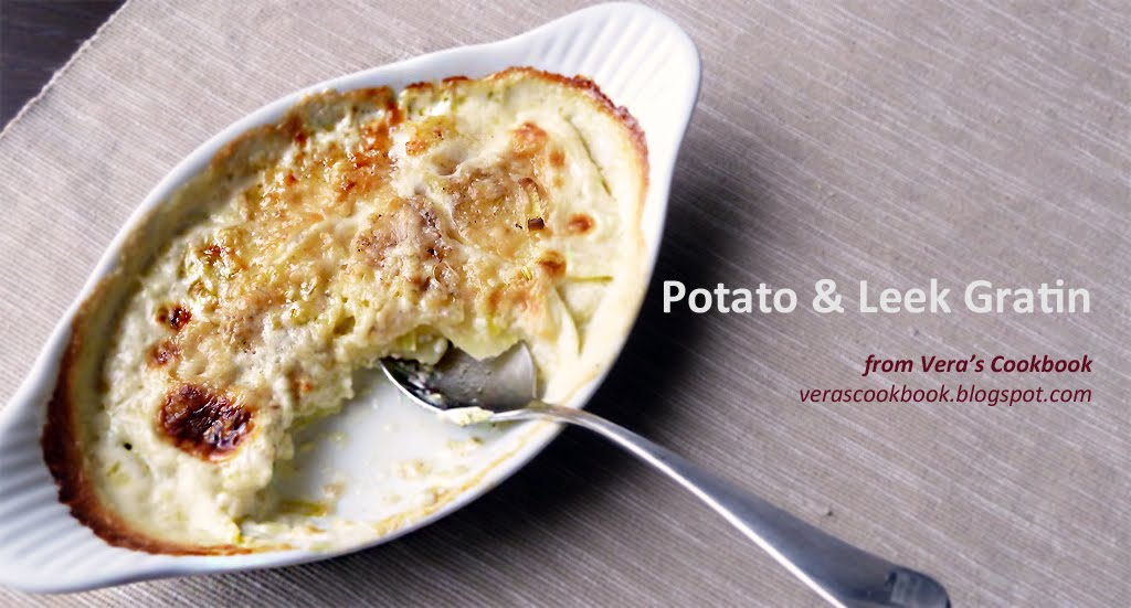 Potato-Leek Gratin Recipe — Dishmaps