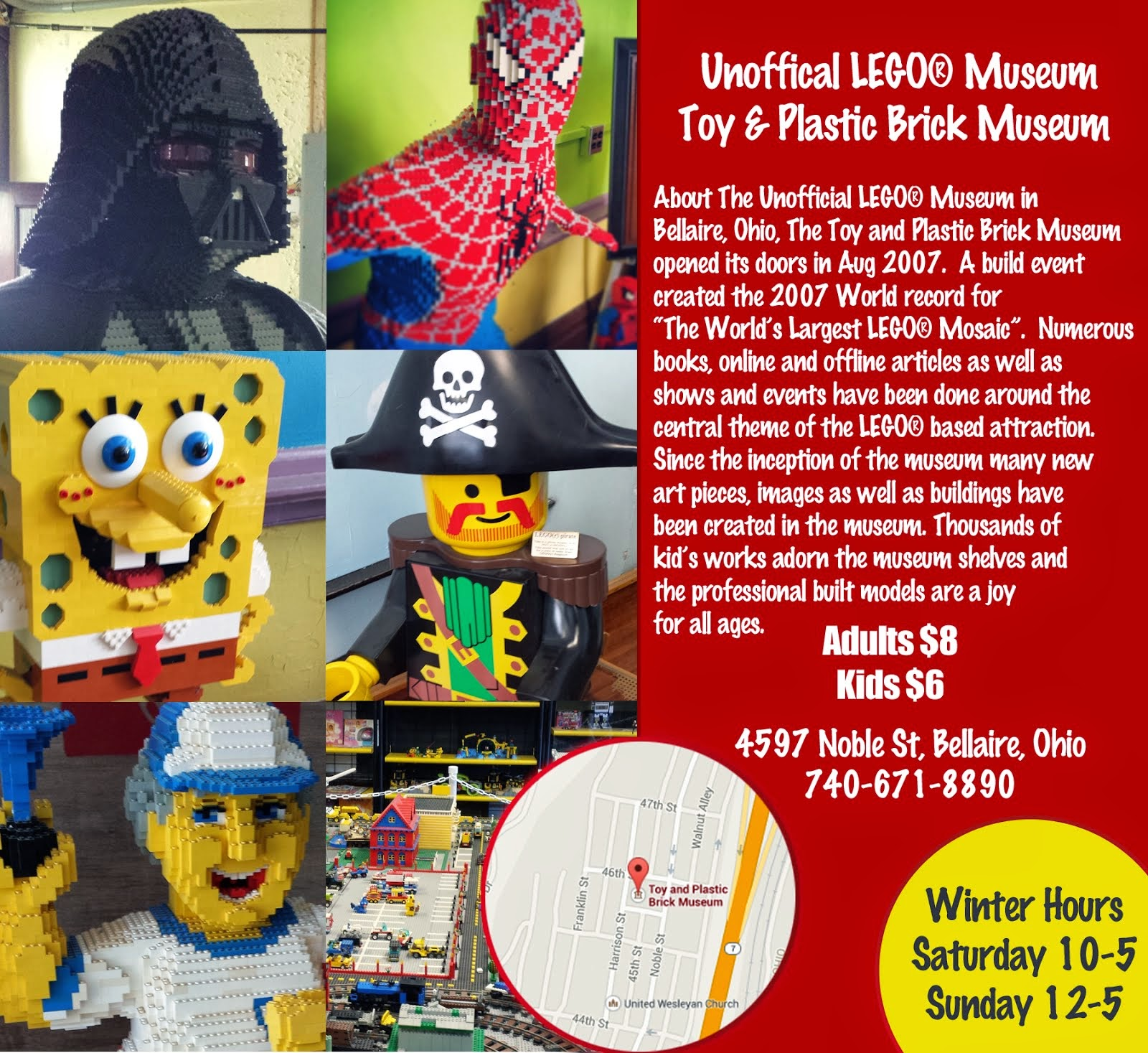 ":____""Unofficial LEGO® Museum of the Ohio Valley""____:"