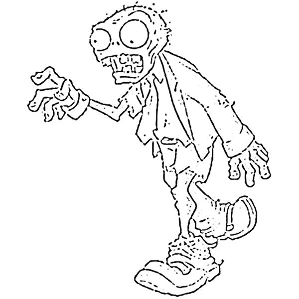 Dibujo de plantas vs zombies para imprimir - Imagui