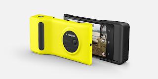 Gambar Nokia Lumia 1020 dengan Kamera Grip